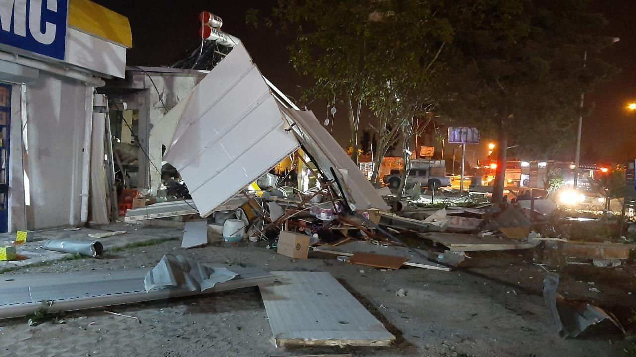 Lokantada tüp patladı, 20 iş yerinde hasar oluştu - Sayfa 3
