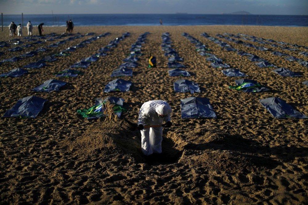 Brezilya'nın Copacabana plajında ceset torbaları - Sayfa 4