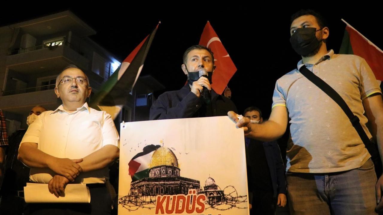 İsrail'in Mescid-i Aksa saldırıları yurt genelinde protesto edildi - Sayfa 3