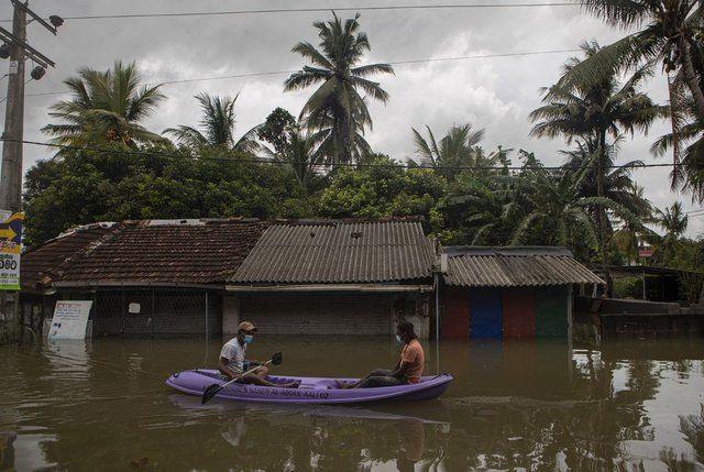 Sri Lanka'da sel felaketi: Ölü sayısı 14'e çıktı! - Sayfa 1