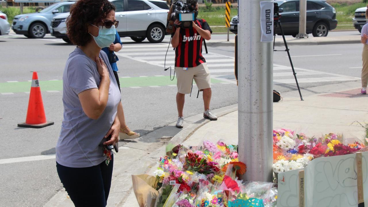 Kanada'daki ırkçı saldırıda hayatını kaybedenler anıldı - Sayfa 1