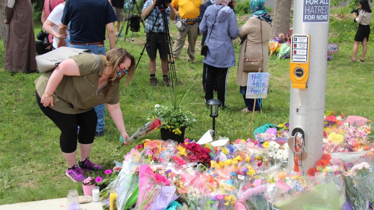 Kanada'daki ırkçı saldırıda hayatını kaybedenler anıldı - Sayfa 4