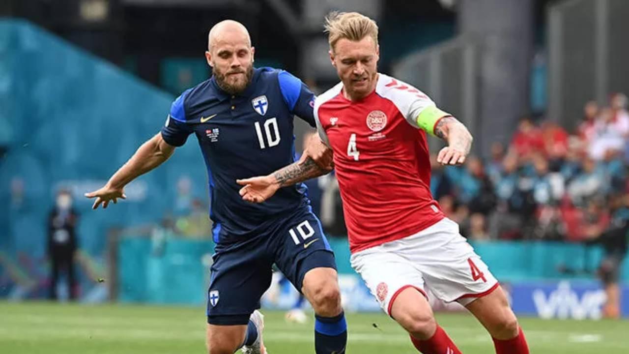 Danimarka-Finlandiya maçı 21.30'da devam edecek