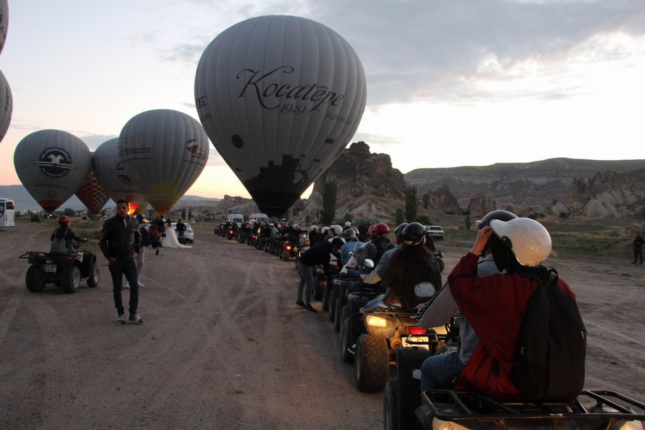 Kapadokya'da gökyüzünde görsel şölen - Sayfa 4