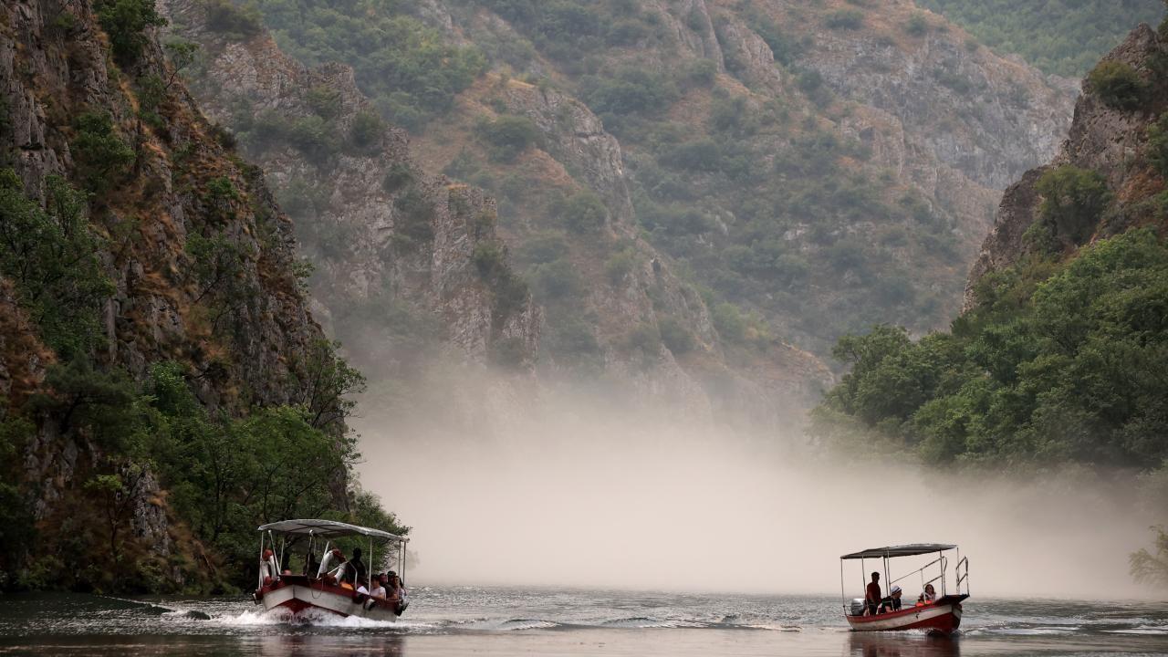 Kuzey Makedonya'da doğal güzellik: Matka Kanyonu - Sayfa 1
