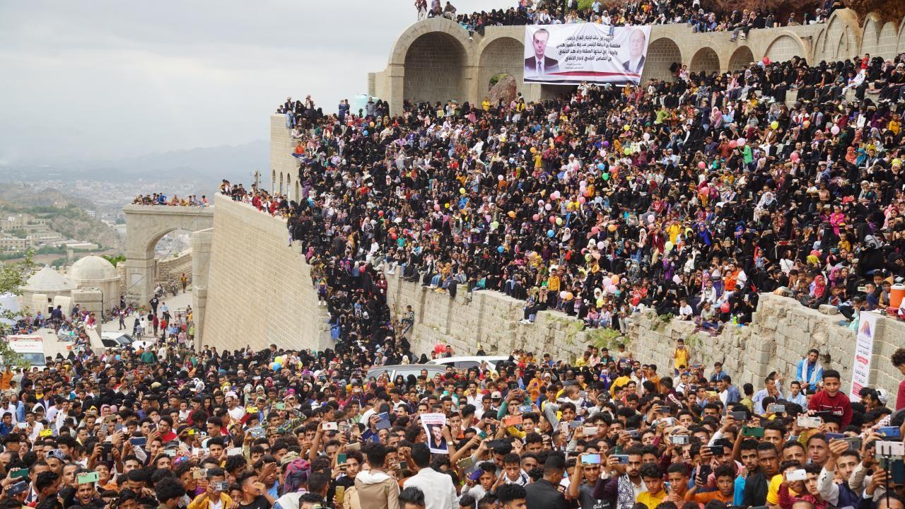 Yemen'deki Kahire Kalesi'nde Kurban Bayramı kutlaması - Sayfa 1