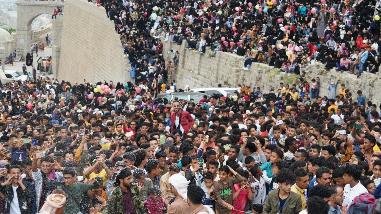 Yemen'deki Kahire Kalesi'nde Kurban Bayramı kutlaması - Sayfa 2
