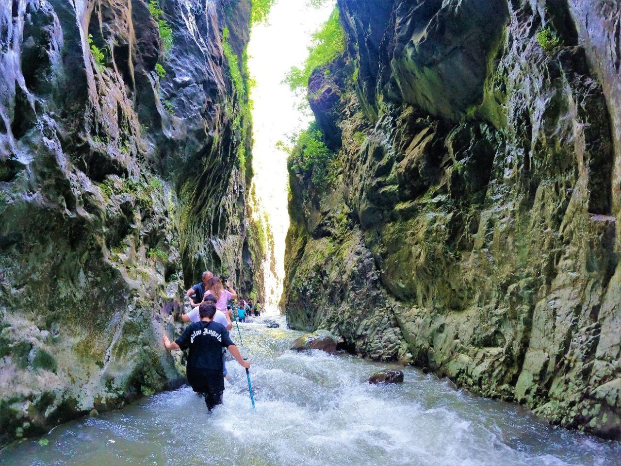Kocaeli'nde adrenalin tutkunlarının gözdesi Serindere Kanyonu her gün yüzlerce kişiyi ağırlıyor - Sayfa 2