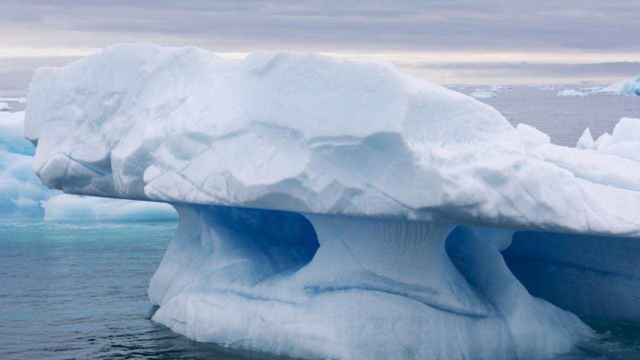 Bir günde 8,5 milyar ton buzul eridi - Sayfa 1