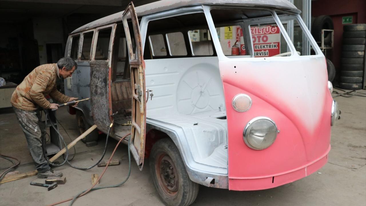 Hurda minibüs Kadir ustanın elinde yenilendi - Sayfa 1