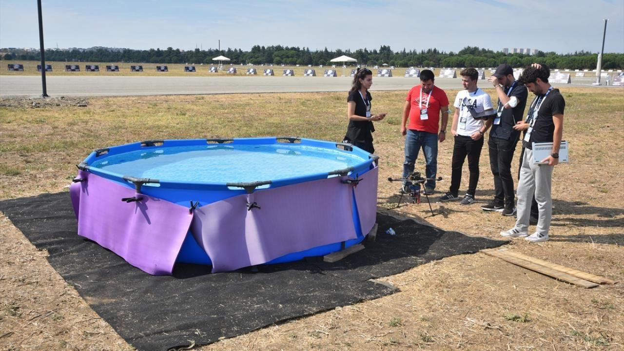"""TEKNOFEST'te """"Liseler Arası İnsansız Hava Araçları Yarışması"""" başladı - Sayfa 4"""