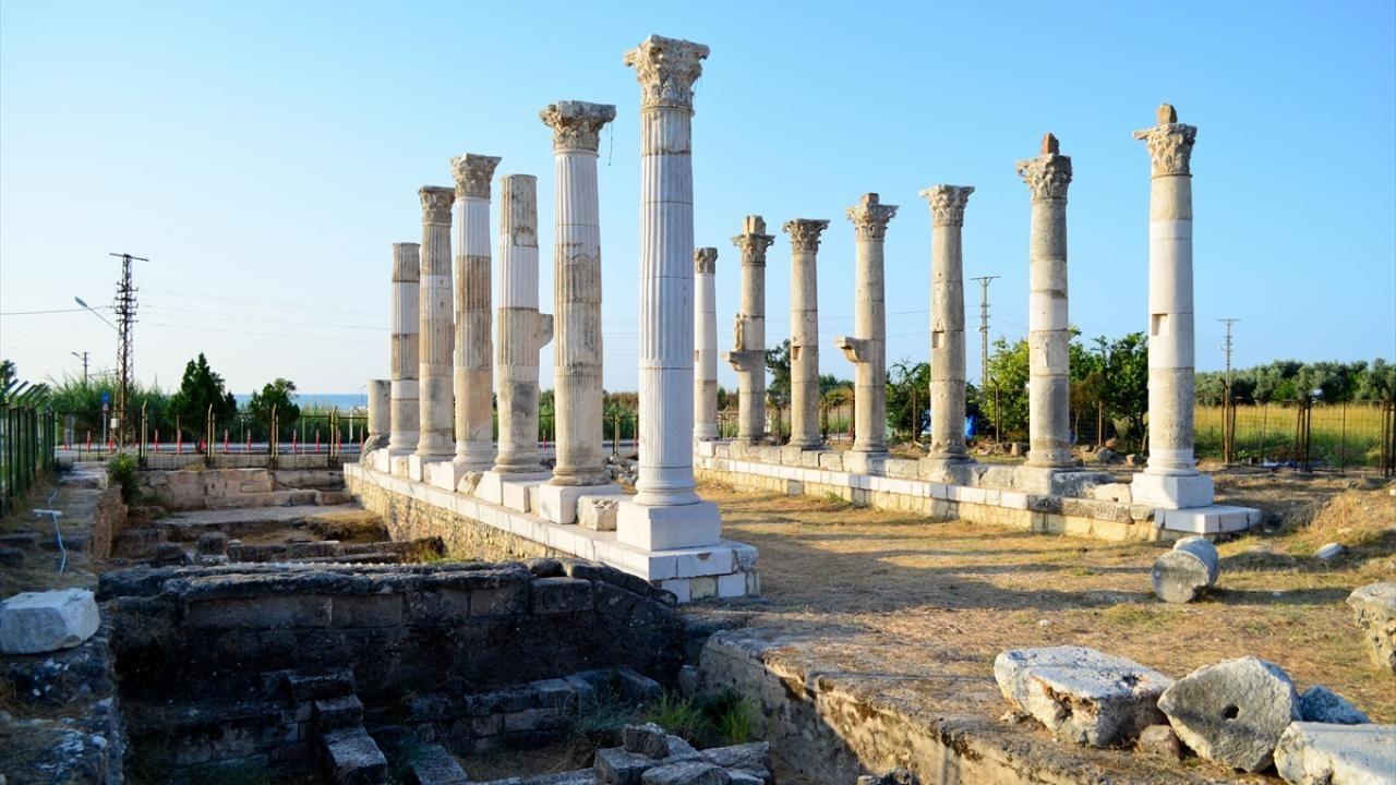 Aratos'un anıt mezarı arkeolojik olarak kanıtlandı - Sayfa 1