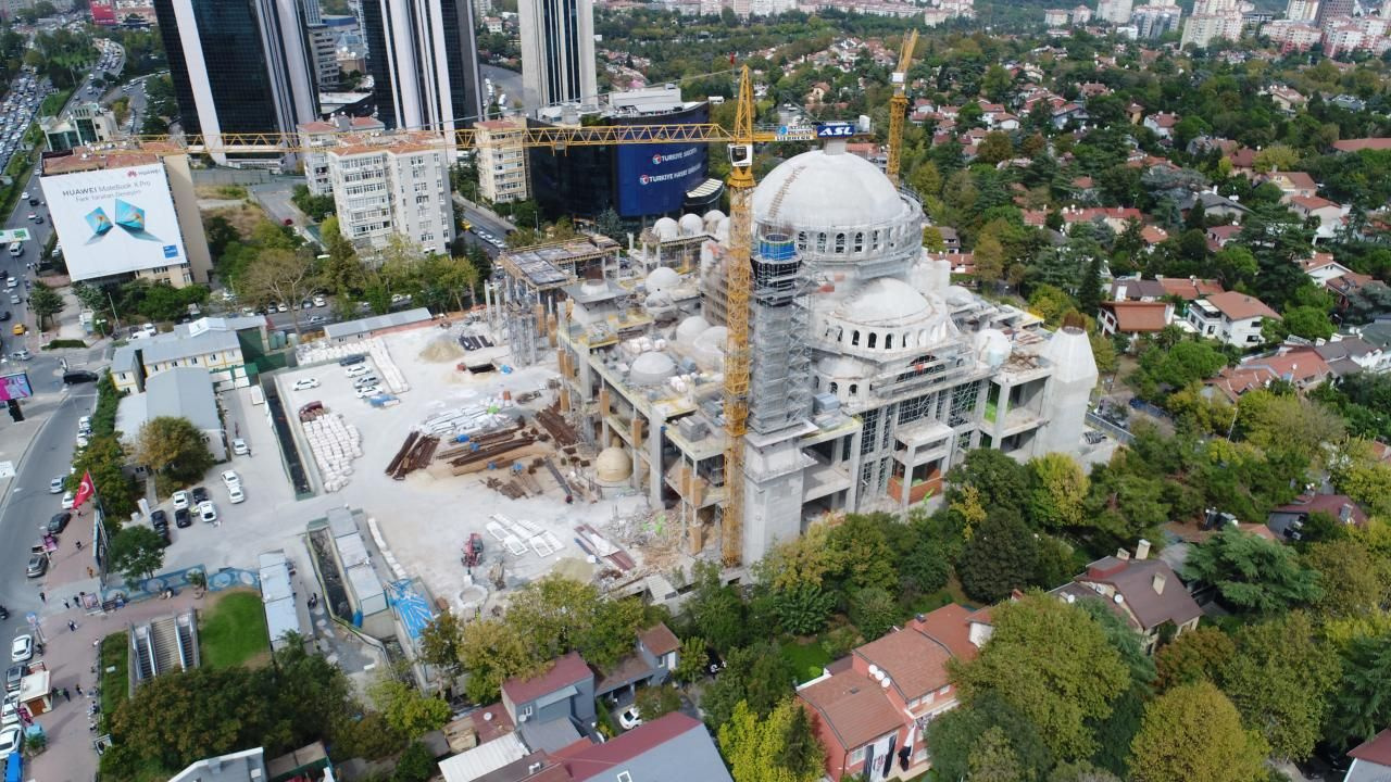 Barbaros Hayrettin Paşa Camii inşaatının yüzde 95'i tamamlandı - Sayfa 2