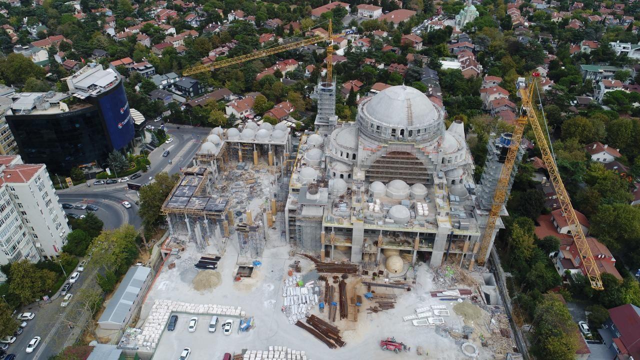 Barbaros Hayrettin Paşa Camii inşaatının yüzde 95'i tamamlandı - Sayfa 3