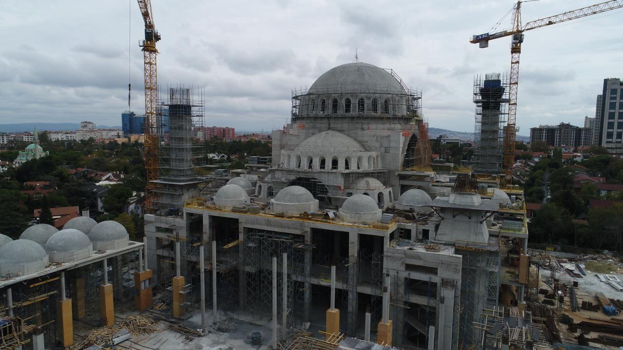 Barbaros Hayrettin Paşa Camii inşaatının yüzde 95'i tamamlandı - Sayfa 4