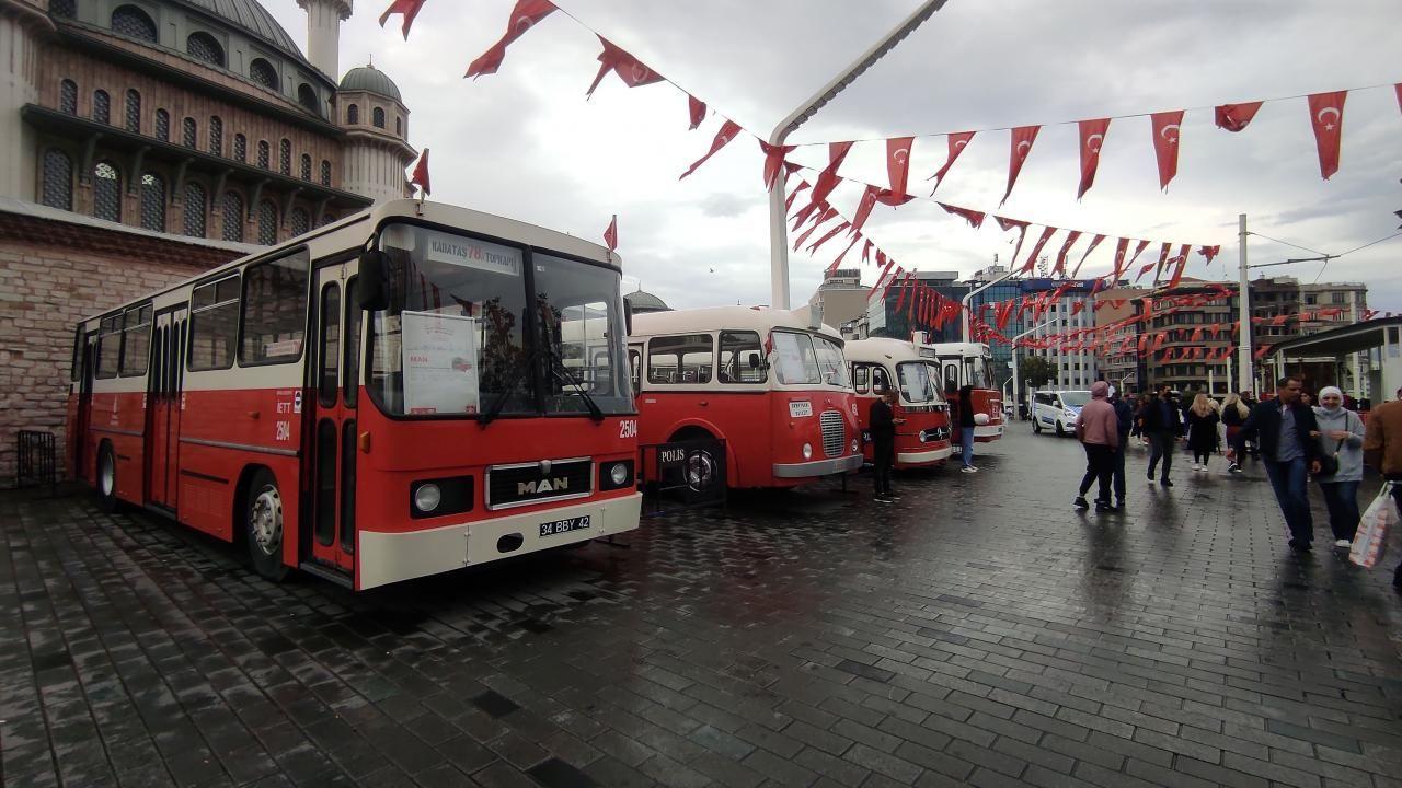 Taksim'de nostaljik otobüs sergisi - Sayfa 3
