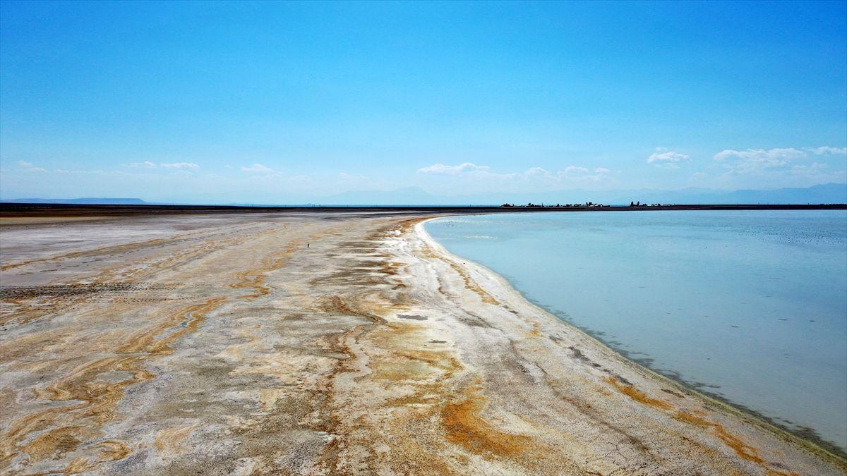 Arin Gölü kuraklık nedeniyle küçülüyor - Sayfa 4