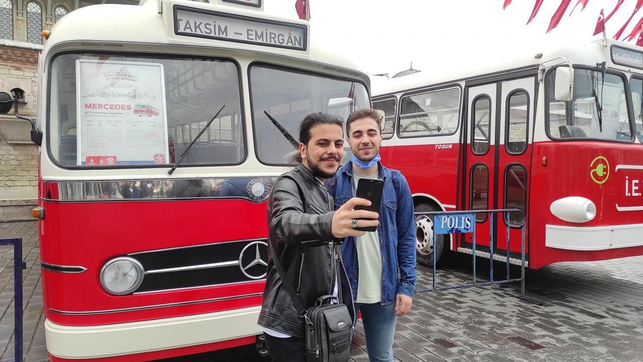Taksim'de nostaljik otobüs sergisi - Sayfa 4
