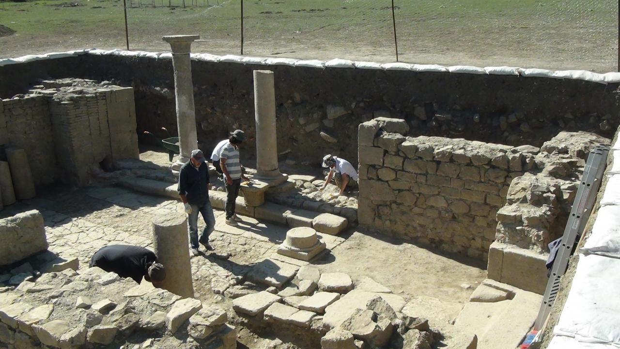 Satala'da Urartu savaşçısının bronz kemeri bulundu - Sayfa 1