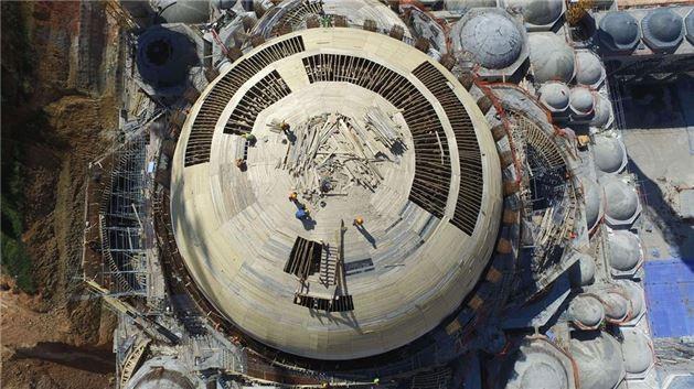 Çamlıca Camisi inşaatında kaba inşaatın sonuna gelindi. - Sayfa 2