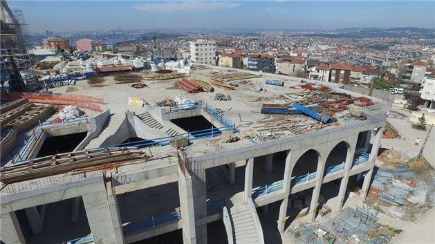 Çamlıca Camisi inşaatında kaba inşaatın sonuna gelindi. - Sayfa 3