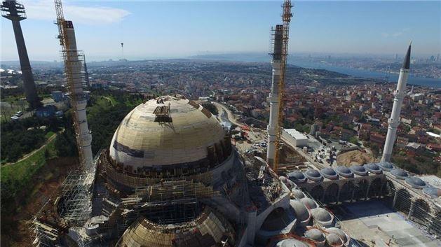 Çamlıca Camisi inşaatında kaba inşaatın sonuna gelindi. - Sayfa 4