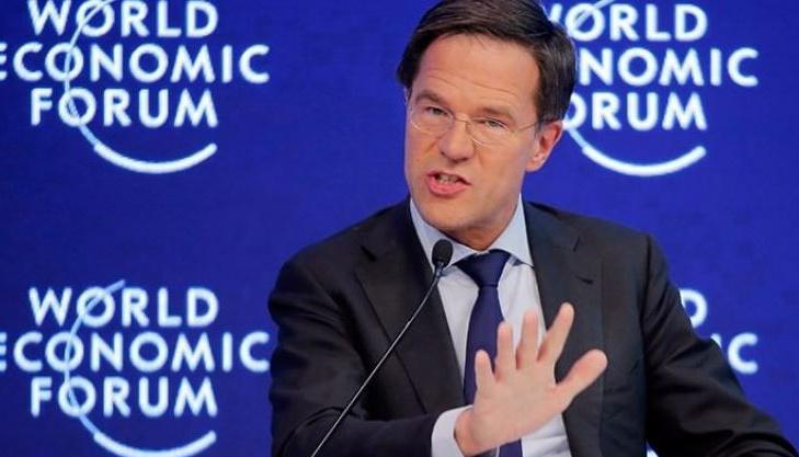 Hollanda Başbakanı Mark Rutte'den küstah tebrik