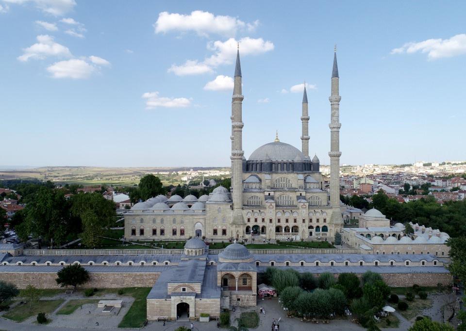 Selimiye Camisi bayram boyunca doldu taştı - Sayfa 1