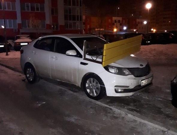 Arabasını hatalı park edince... Bakın başına ne geldi... - Sayfa 1