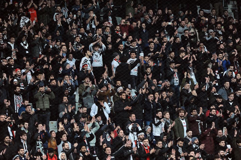 Beşiktaş - Fenerbahçe maçından kareler - Sayfa 4