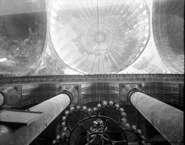 Ayasofya'nın Cami olduğu yıllara ait fotoğraflar - Sayfa 1