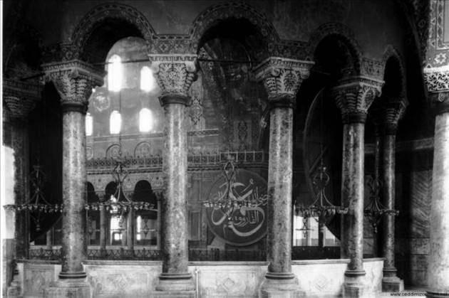 Ayasofya'nın Cami olduğu yıllara ait fotoğraflar - Sayfa 4