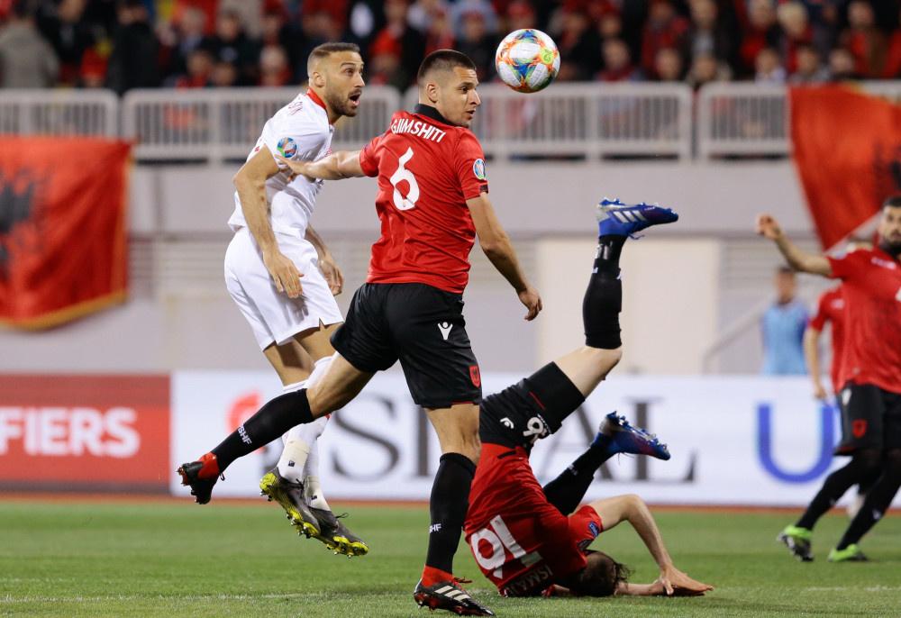 Arnavutluk - Türkiye maçından kareler - Sayfa 1