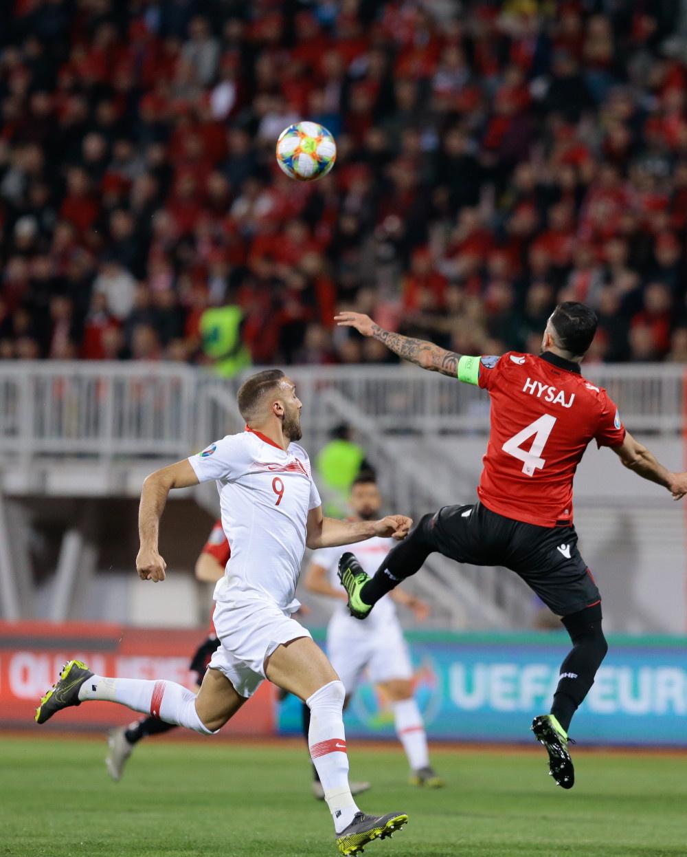 Arnavutluk - Türkiye maçından kareler - Sayfa 4