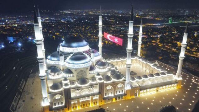 Çamlıca Camisi'nde ilk ezan yarın - Sayfa 1