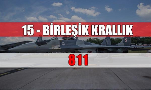 Hangi ülkede kaç savaş uçağı var? Birinci sıradaki devlet... - Sayfa 3