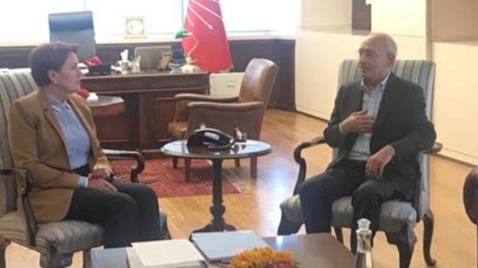 Genel merkeze gitti! Akşener'den Kılıçdaroğlu'na ziyaret