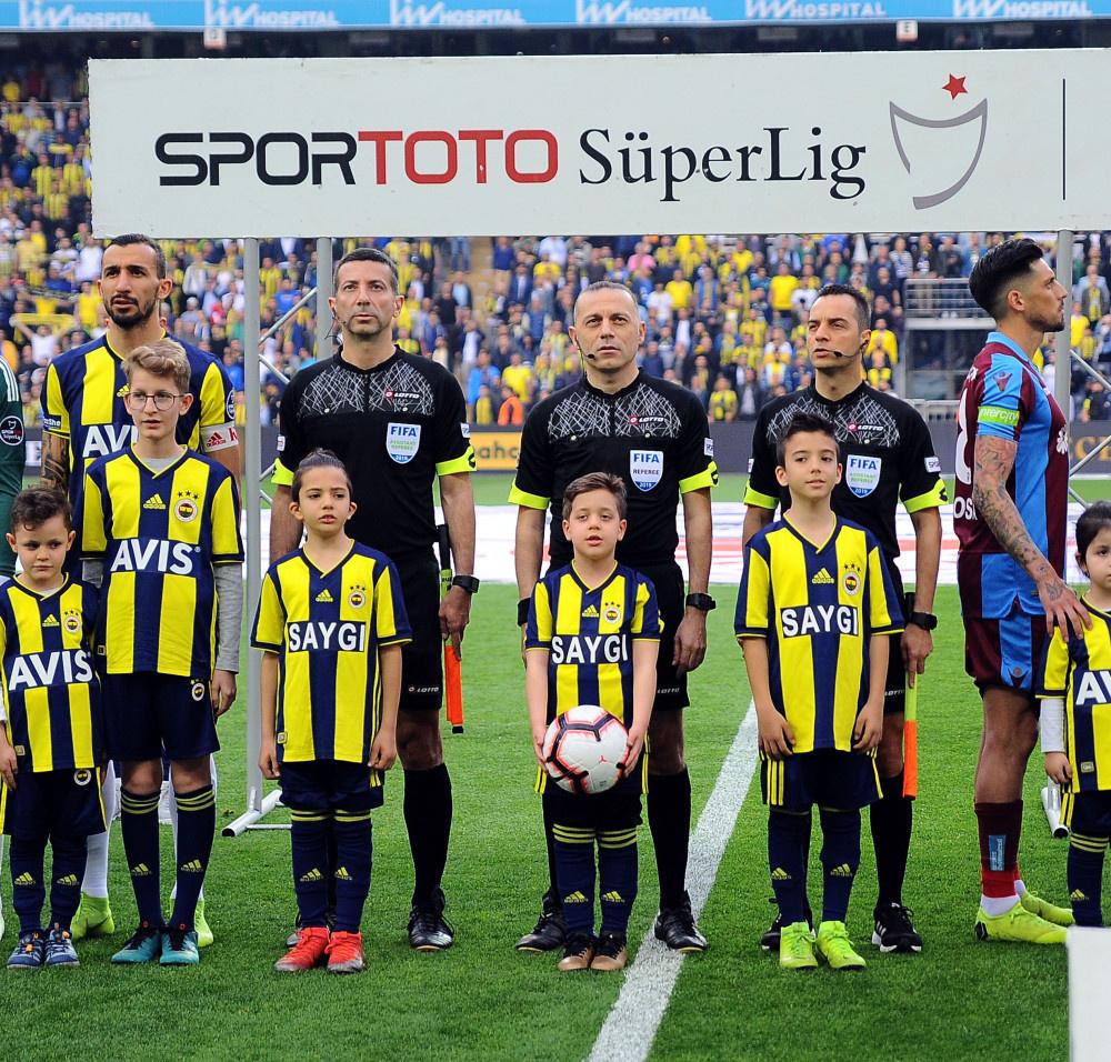 Fenerbahçe – Trabzonspor maçından kareler - Sayfa 1