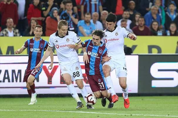 Trabzonspor - Beşiktaş maçından kareler - Sayfa 4