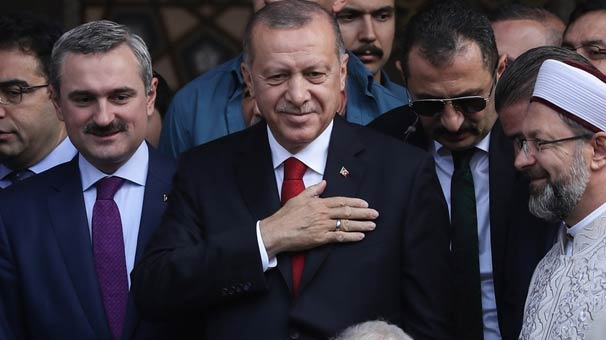 Erdoğan Hacı Osman Torun Camii açılışına katıldı