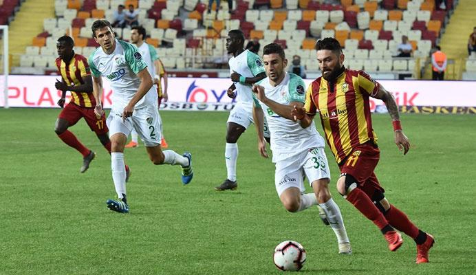 Kazanmak yetmedi! Bursaspor ve Erzurumspor Süper Lig'e veda etti