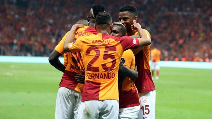 Aslan tahtına oturdu! Beşiktaş'ı deviren Galatasaray yeni lider