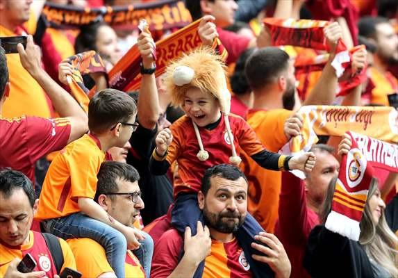 Galatasaray - Beşiktaş maçından kareler - Sayfa 1