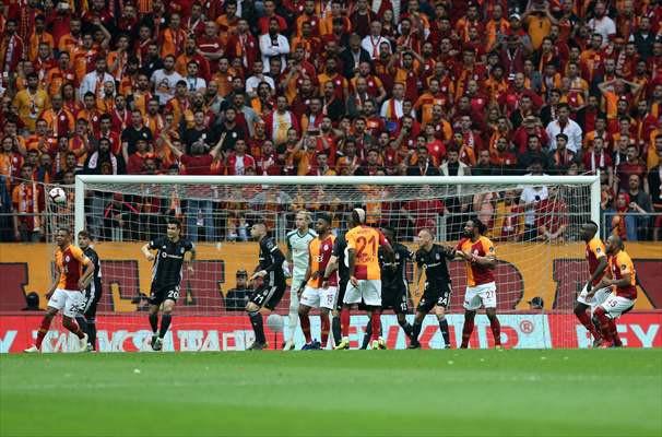 Galatasaray - Beşiktaş maçından kareler - Sayfa 4
