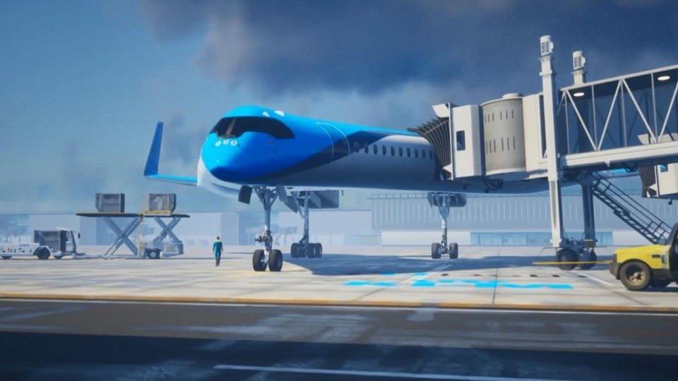 Yolcularını kanatta taşıyacak uçak: Flying-V - Sayfa 1