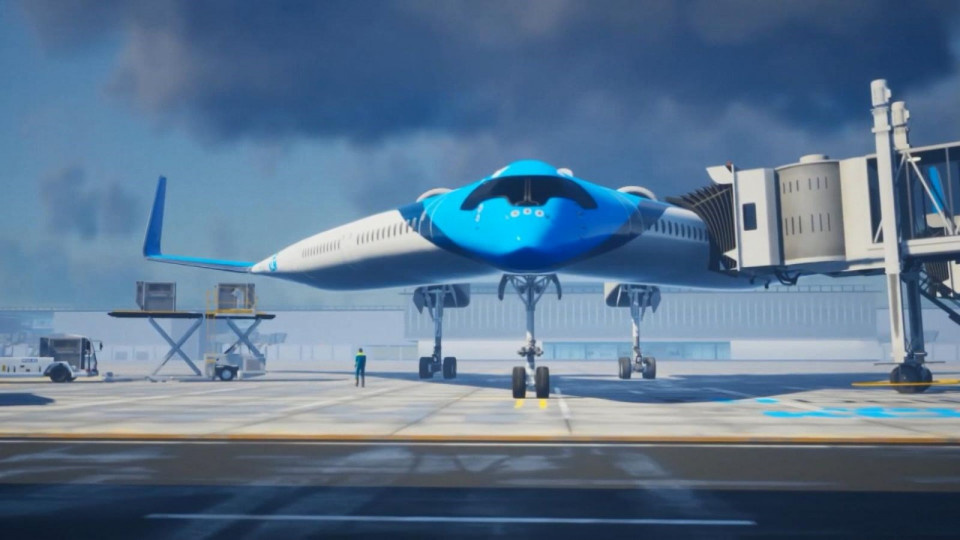 Yolcularını kanatta taşıyacak uçak: Flying-V - Sayfa 2