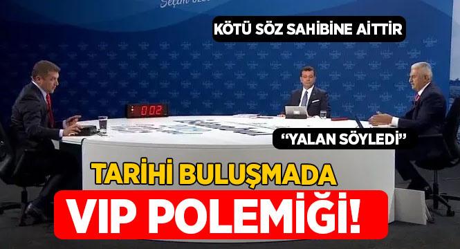 Tarihi Yıldırım-İmamoğlu buluşmasında VIP polemiği!