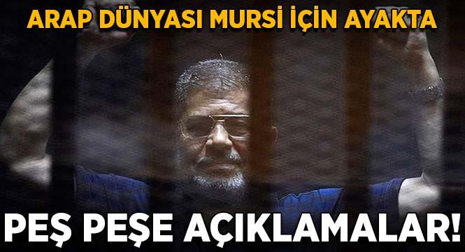 Arap dünyası Muhammed Mursi için ayakta!