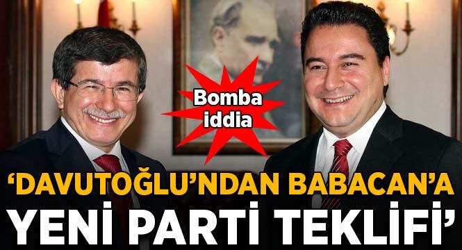 'Ahmet Davutoğlu'ndan Ali Babacan'a yeni parti teklifi' iddiası