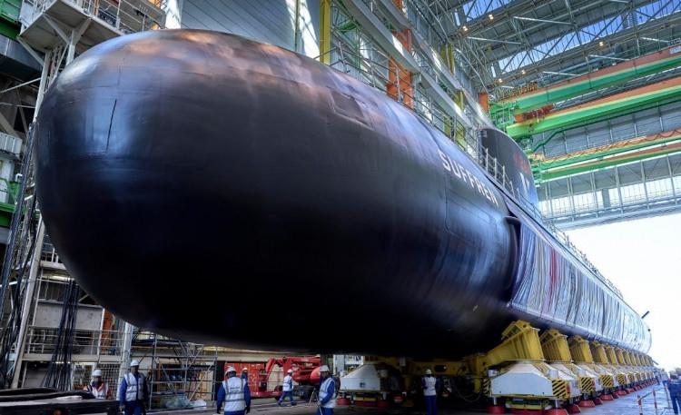 5 bin ton ağırlığındaki yeni nükleer denizaltısının açılışı yapıldı - Sayfa 4